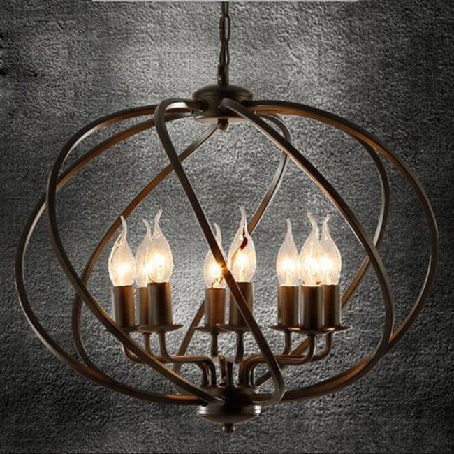 Wrought Iron Pendant Light