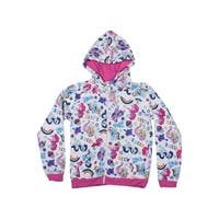 My Little Pony Rainbow Youth Hoodie - White