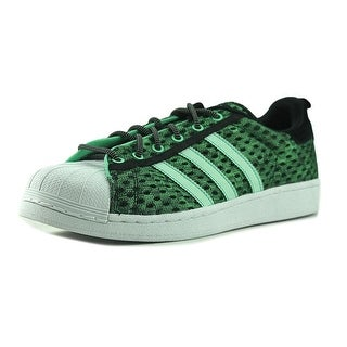 Adidas Superstar Gid Men  Round Toe Synthetic Green Sneakers
