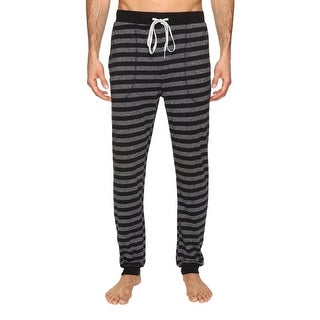 Kenneth Cole Reaction NEW Black Mens Size XL Striped Lounge Sleep Pants