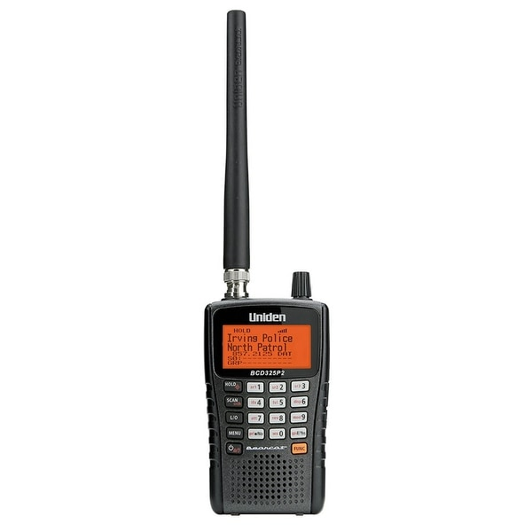 Uniden BCD325P2 Digital Handheld Scanner with LCD Display