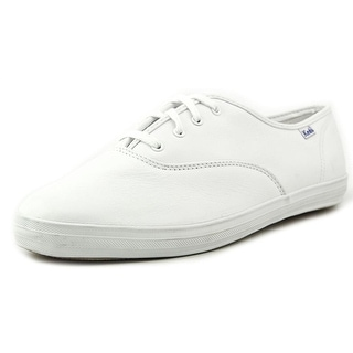 Keds Champion Leather   Round Toe Leather  Sneakers