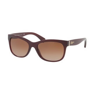 Link to Ralph RA5233 167413 56 Burgundy Woman Rectangle Sunglasses Similar Items in Women's Sunglasses