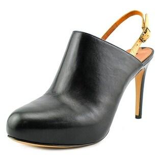 Via Spiga Benny Women Round Toe Leather Heels