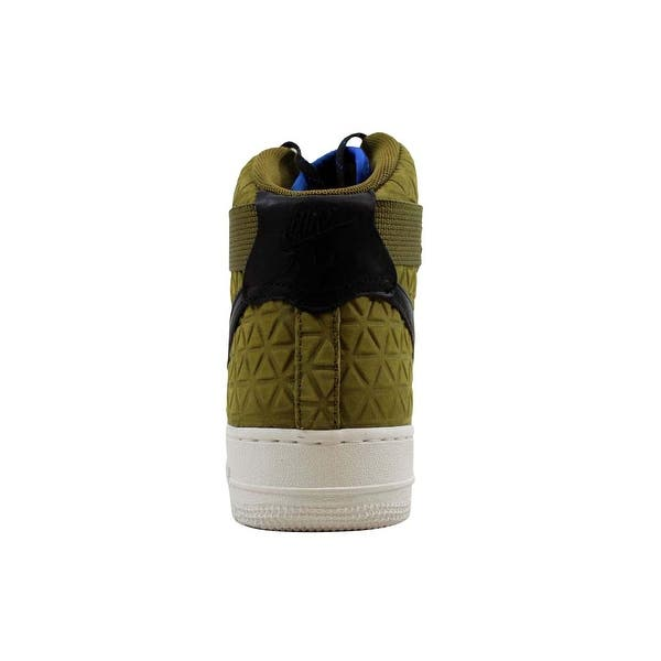 Shop Nike Women S Air Force 1 Hi Premium Suede Olive Flak Black Midnight Turquoise 845065 300 Size 10 On Sale Overstock 22546825