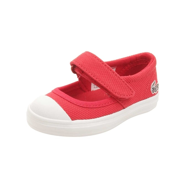 4e369ac6b Shop Lacoste Infant Zayla 116 Flats in Red/White - Free Shipping On ...