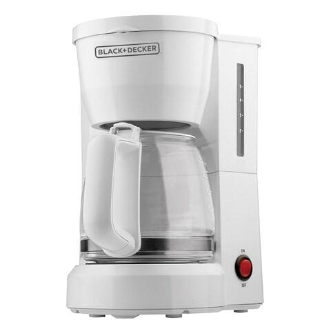 Black & Decker DCM600W 5 Cup Coffeematic Coffeemaker, 5 Cup