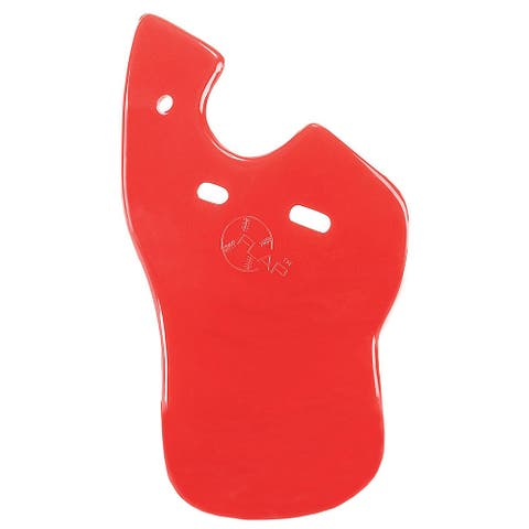 Markwort C-Flap Jaw and Cheek Protection for Left Handed Batter - Scarlet Red