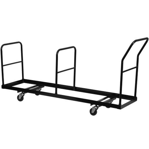 Vertical Storage Folding Chair Dolly with 35 Chair Capacity