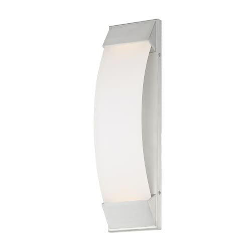 Wac Lighting Ws W29718 Panorama Single Light 18 High Integrated Led Outdoor Wall Sconce