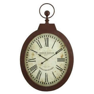 Aspire Home Accents 5681 Louis Oval Wall Clock