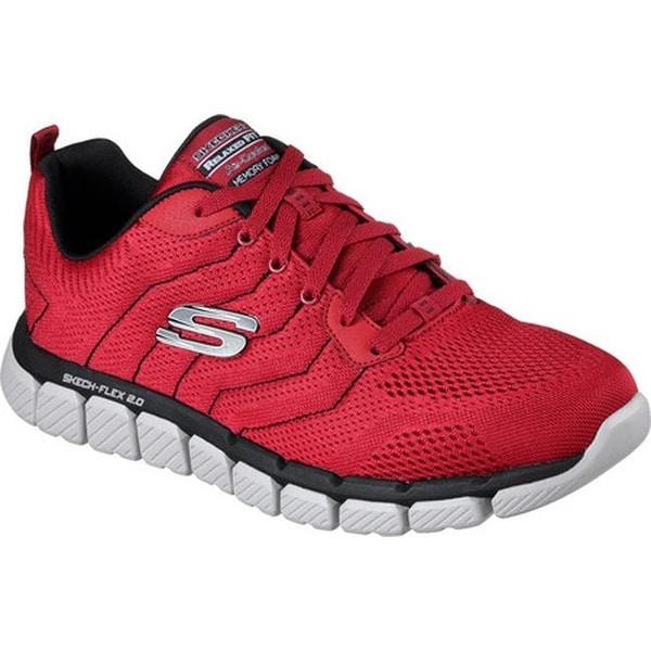 Skech-Flex 2.0 Milwee Training Shoe Red