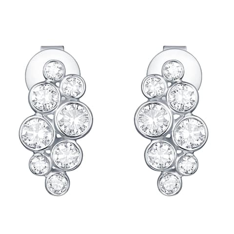Smiling Rocks Bubbly Collection 0.96Ct G-H/VS1 Lab Grown Diamond Earring