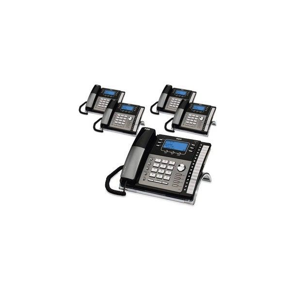 RCA ViSYS 25424RE1 (5-Pack) RCA 4-Line EXP Speakerphone w/ CID