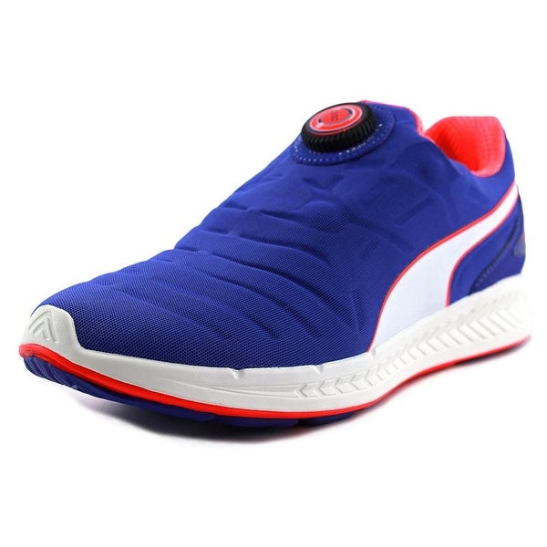 Puma Ignite Disc Women Royal Blue-White-Red Blast Running Shoes