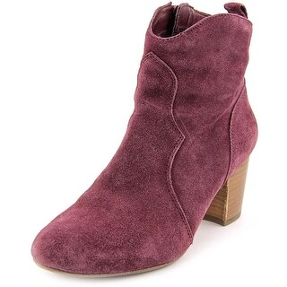 Steve Madden Hipstr Round Toe Suede Ankle Boot