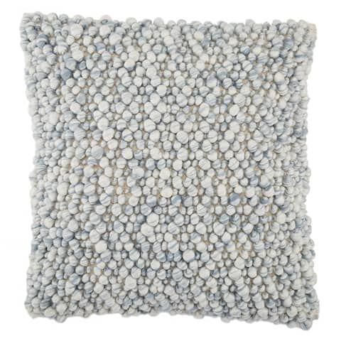 Ariadne Textured 22-inch Pillow or Pillow Cover