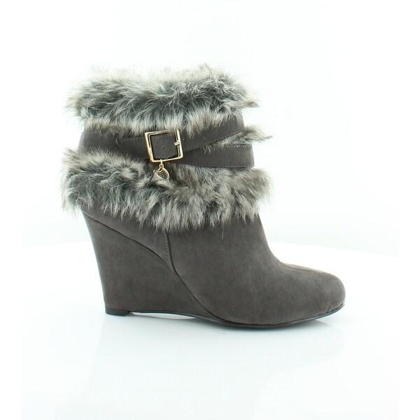 Thalia Sodi Saadie Women's Heels Charcoal - 7