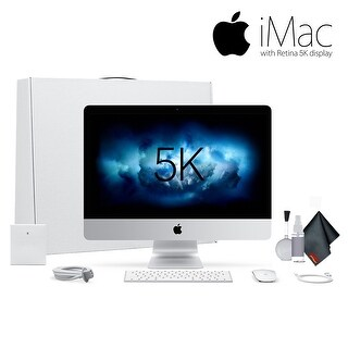 Apple iMac 27 Inch 3.4 GHz Core i5, 8GB RAM, 1TB Fusion Drive Bundle