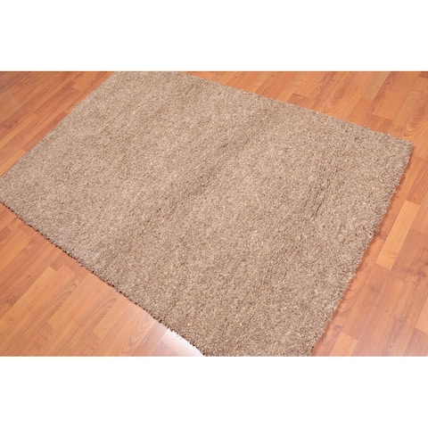 Hand Knotted Super Soft Morroccan Rabat Area Rug (4'x6') - 4' x 6'