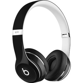 Beats By Dre Solo2 Luxe Edition On-Ear Headphones (Black)