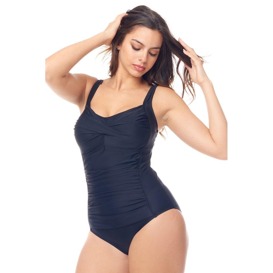 1772650d76598 Buy Size 20W One-piece Swimwear Online at Overstock | Our Best Swimwear  Deals