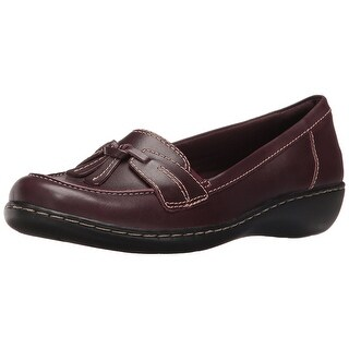 CLARKS Womens Ashland Bubble Closed Toe Loafers