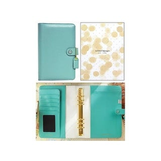 Webster's Pgs CC Planner A5 Boxed Lt Teal