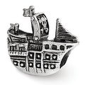 Sterling Silver Reflections Pirate Ship Bead (4mm Diameter Hole) - Thumbnail 0
