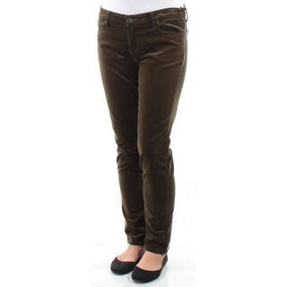 KUT $79 Womens New 1247 Green Casual Pants 2 B+B