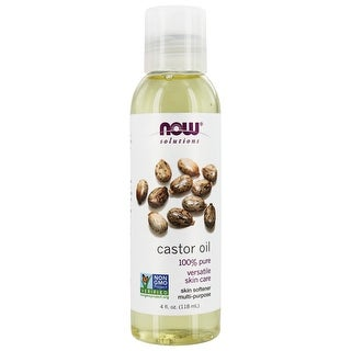 Link to NOW Foods - NOW Solutions Castor Oil - 4 fl. oz. Similar Items in Aromatherapy & Massage
