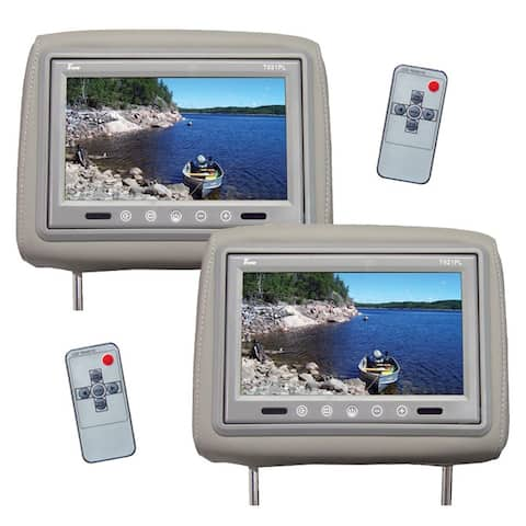 Tview t921pl-gr tview 9 tft lcd monitor in headrest ir trans gray