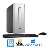 HP Envy 750-524, Intel Core i7-7700, 16GB, 1TB HDD/128GSSD, Desktop PC - Silver