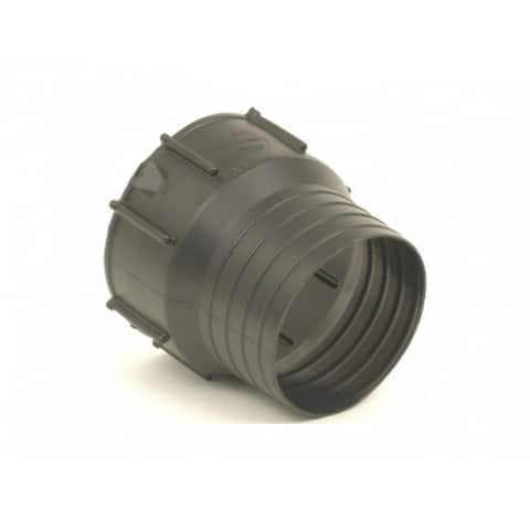 """ADS 0462AA Poly Snap Drain Tube Adapter, 4"""""""