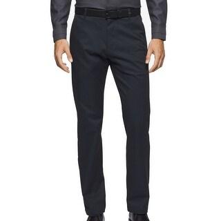 Calvin Klein NEW Deep Teal Blue Mens Size 36X30 Khakis Chinos Pants