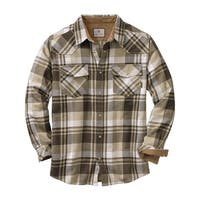Legendary Whitetails Men's Shotgun Western Flannel