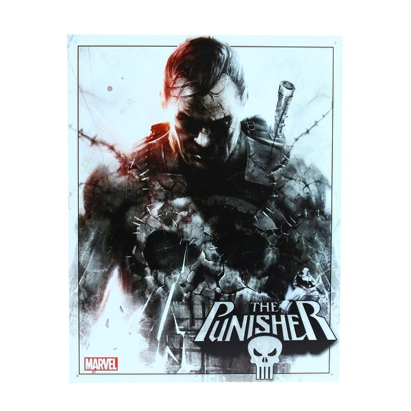 Marvel The Punisher Tin Sign