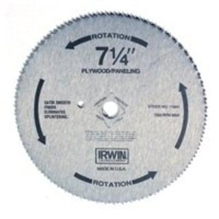 Irwin 11840 Plywood Saw Blade, 7-1/4, 140-Teeth