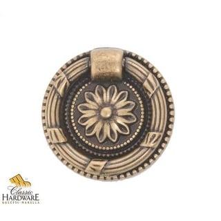 Bosetti Marella 100206 Louis XVI 1-1/2 Inch Diameter Ring Cabinet Pull