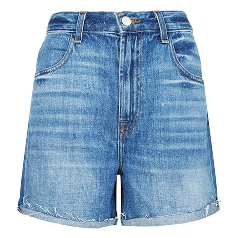 J Brand Joan High Rise Denim Shorts