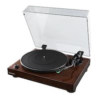 Fluance High Fidelity Vinyl Turntable Record Player with Dual Magnet Cartridge, Elliptical Stylus, Preamp, Solid Cabinet