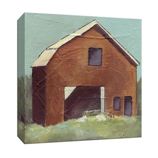 """PTM Images 9-146893  PTM Canvas Collection 12"""" x 12"""" - """"Barn IV"""" Giclee Country Buildings Art Print on Canvas"""