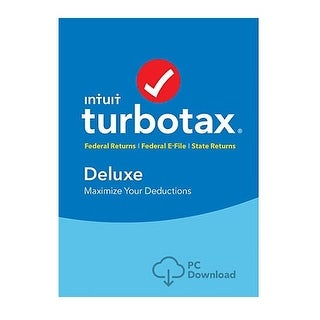 Intuit 605024 Turbotax Deluxe And State 2017 Shredder