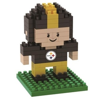 Pittsburgh Steelers 3D NFL BRXLZ Bricks Puzzle Player