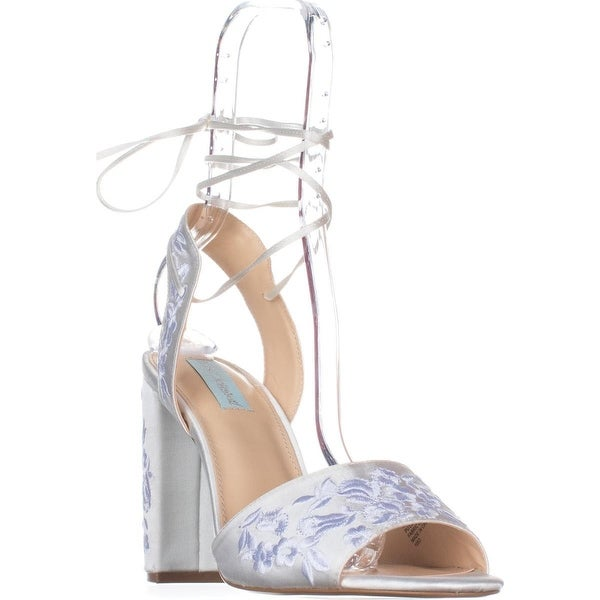 Blue by Betsey Johnson Raine Dress Sandals, Ivory