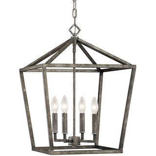 "Millennium Lighting 3244 4 Light 16"" Wide Taper Candle Pendant"