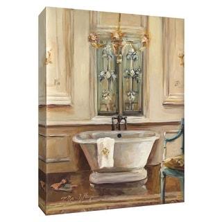 "PTM Images 9-154827  PTM Canvas Collection 10"" x 8"" - ""Classical Bath III"" Giclee Bathroom Art Print on Canvas"