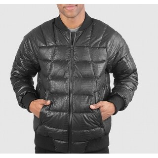 The North Face NEW Black Mens Size Large L Quilted Puffer Bomber Jacket