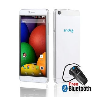 Indigi® 6.0inch Factory unlocked 3G Smartphone Android 5.1 SmartPhone + WiFi + Google Play + Bluetooth Included - White