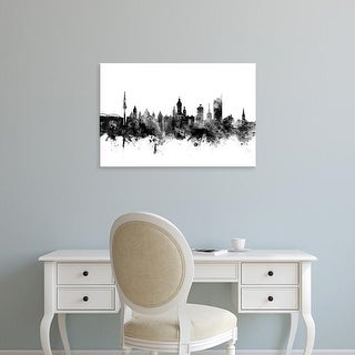 Easy Art Prints Michael Tompsett's 'Leipzig Germany Skyline' Premium Canvas Art